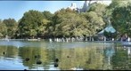 Central Park Conservatory Pond Facing North, New York