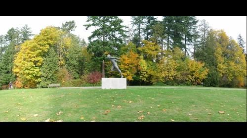 Stanley Park - Harry Jerome Monument
