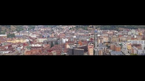 Panorámica de Mieres (Septiembre 2012)