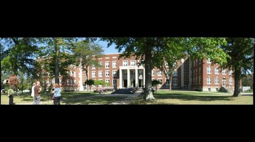 WLU Main Hall