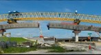 Launching Gantry (Smooth Operator) Erecting Bridge #11 in the SR-826/SR-836 Interchange Miami-Dade County Project_LF030678-0821_E