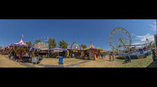 At the Utah State Fair - Carnival Sideshow