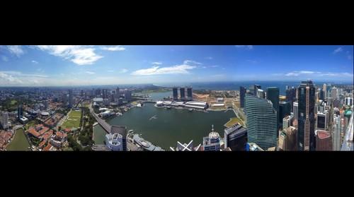 Singapur Marina Bay Panorama