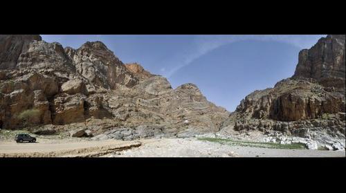 Ductile Folds & Shear-planes, Wadi Mayh, Oman
