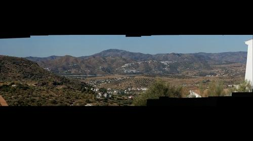View from my terrace in Alcaucin,Andalusia Spain