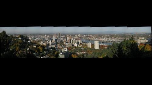 Portland, OR, looking North from Oregon Health Sciences