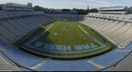 Kenan Memorial Stadium before Idaho