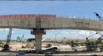 SR-826/SR-836 Interchange Bridge 15 with 12 Segments UP &amp; 12 Segments Down as viewed from the West