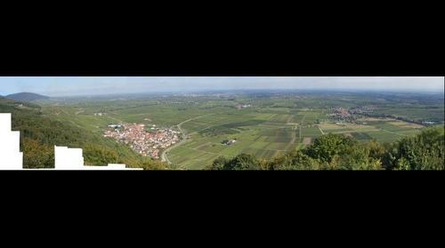Blick auf Südpfalz