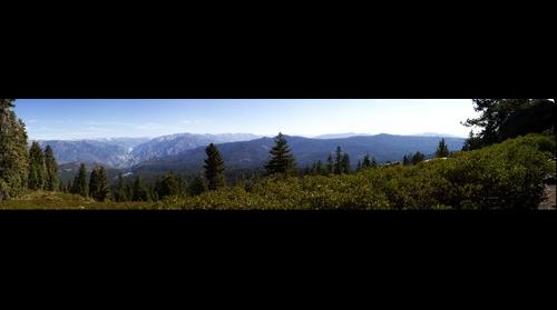 Panorama Point in Sequoia National Park