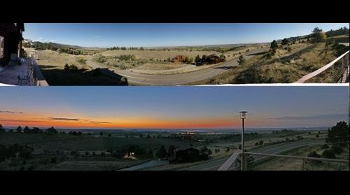 Dual Thunderhead Road Panoramas