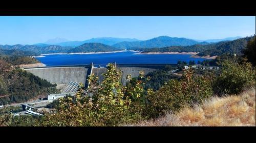 Shasta Dam and Lake
