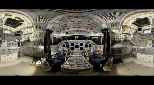 Space Shuttle Endeavour Flight Deck (Powered-Down)