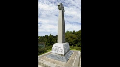 War memorial. Church Island, Menai Bridge, Anglesey, North Wales