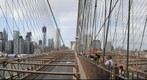 Hanging out on the Brooklyn Bridge