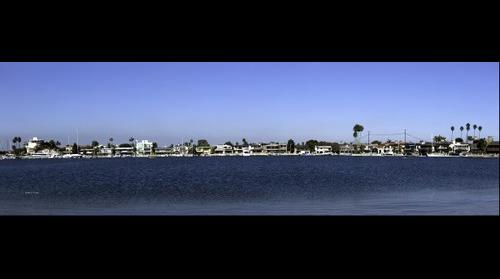 Naples Island in Alamitos Bay Long Beach California 1