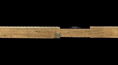 Mars Science Laboratory Rocknest Panorama