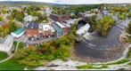 Above Middlebury Falls 