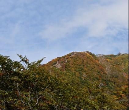Tanigawa_dake foliage 2/3