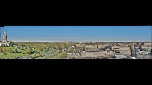 Fall Colors DC Panorama from Carlyle Towers in Alexandria