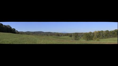 SBC first-year seminar view of the Blue Ridge