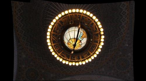 Chandelier by Lee Lawrie, Los Angeles Public Library