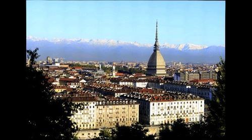 Torino Turin morning