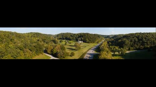 Highway 96 in Williamson County, TN from the Natchez Trace Parkway Bridge