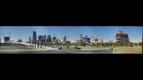 Nashville and Titans Stadium