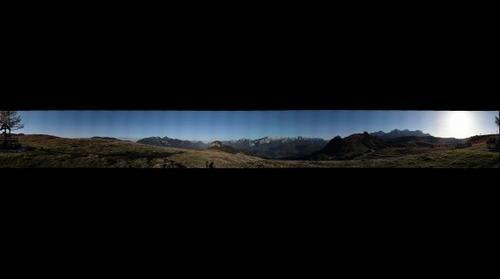 360° nähe der Schwarzeckbahn Loferer-Alm