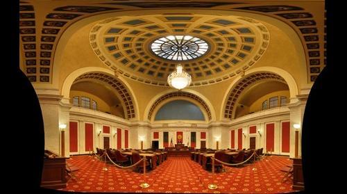 West Virginia State Senate Chamber