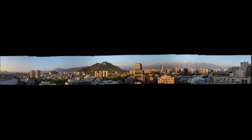 Santiago Springtime Sunset 2012