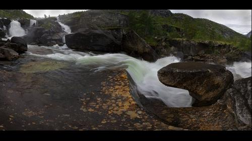 Hellemobotyn Waterfall, Norway
