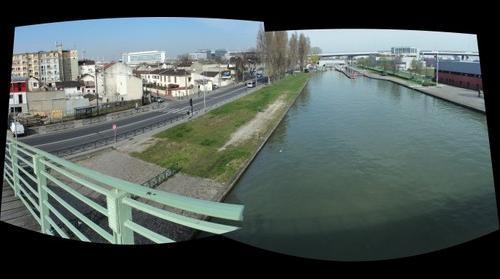 Canal Saint-Denis à Aubervilliers