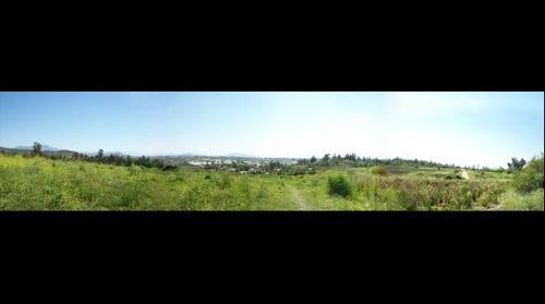 paisaje campestre Puente Alto-Chile