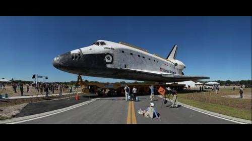 Space Shuttle Atlantis In Exploration Park