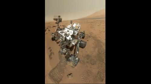 High-Resolution Self-Portrait by Curiosity Rover Arm Camera (courtesy NASA) posted