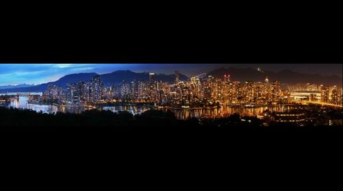Vancouver Sunset Timelapse