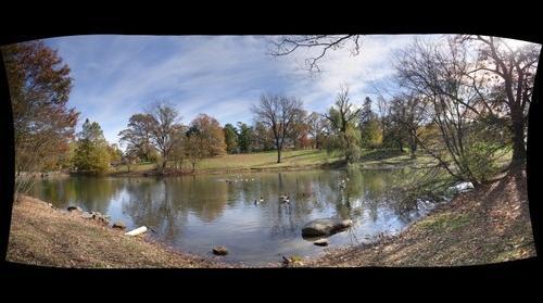 whereRU: lake in Douglass