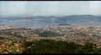 Vigo desde o parque forestal de Beade