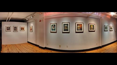 Hoboken Historical Museum, Upper Gallery, Hoboken From Afar: Photomontages by Roslyn Rose, Sept. 15 – Nov. 4, 2012