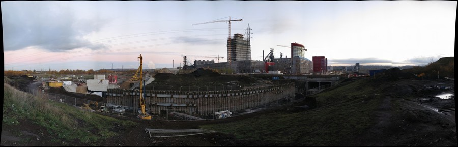 Construction site Belval.lu (2012)
