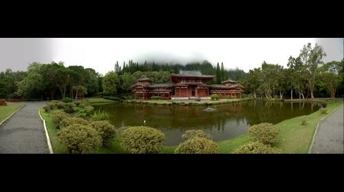 The Byodo-In Templ, Valley of the Temples Memorial Park
