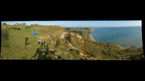 East from Golden Cap, Dorset