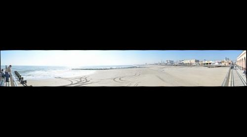 Ocean City Beach - after Hurricane Sandy