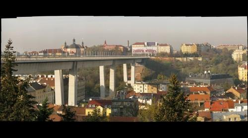 Nuselsky most (Nusels Bridge), Prague, Czech Republic