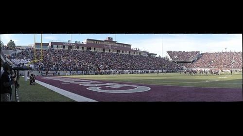 UM Griz vs. MSU Cats at Washington-Grizzly Stadium on November 17, 2012 (Gigapan #2)