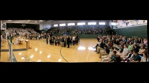 All Schools Mass at Billings Central High School