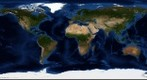 Blue Marble: Next Generation, August (2km/pixel)