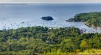 Panorama of Camden Harbor, Maine